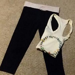 Victoria's Secret Pants - VS PINK outfit
